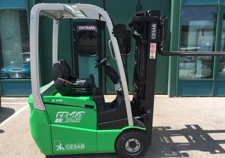 Cesab B315 Elettrico 3 ruote www.cemiat.com