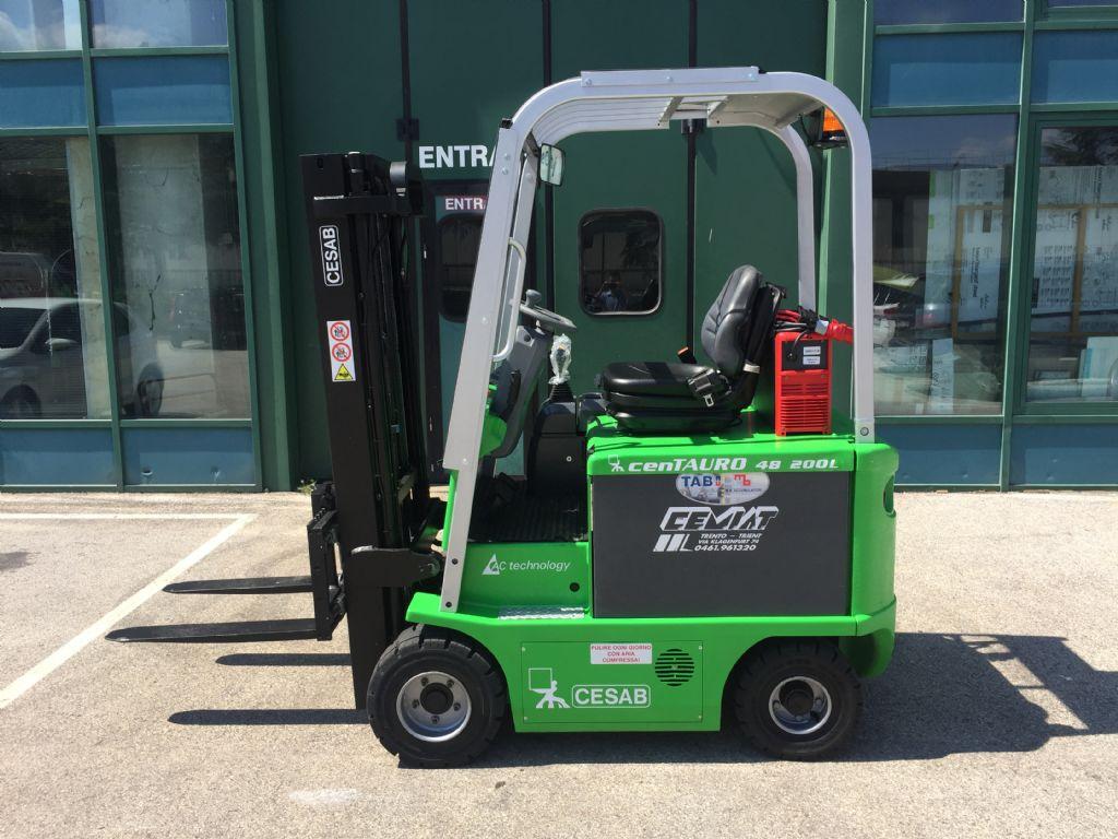 Cesab cenTAURO 48  200L Elektro 4 Rad-Stapler www.cemiat.com