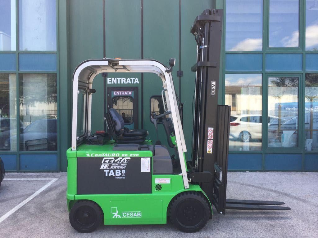 Cesab cenTAURO 80  250 Elettrico 4 ruote www.cemiat.com