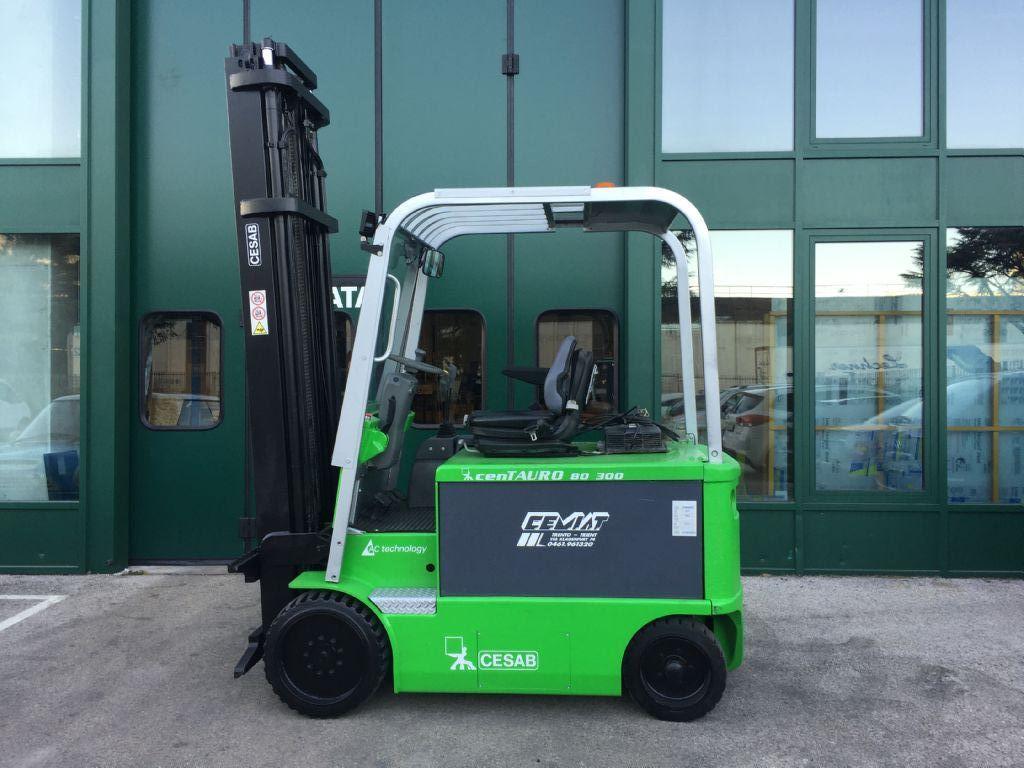 Cesab cenTAURO 80  300 Elettrico 4 ruote www.cemiat.com