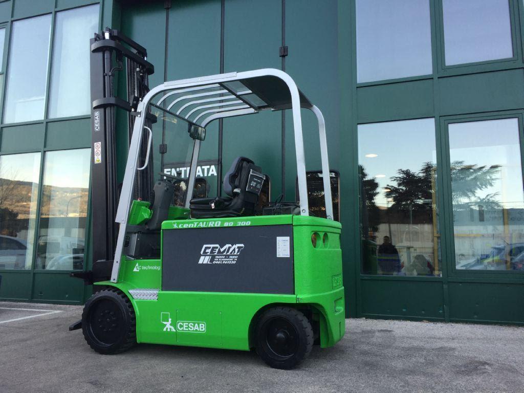 Cesab cenTAURO 80  300 Elektro 4 Rad-Stapler www.cemiat.com