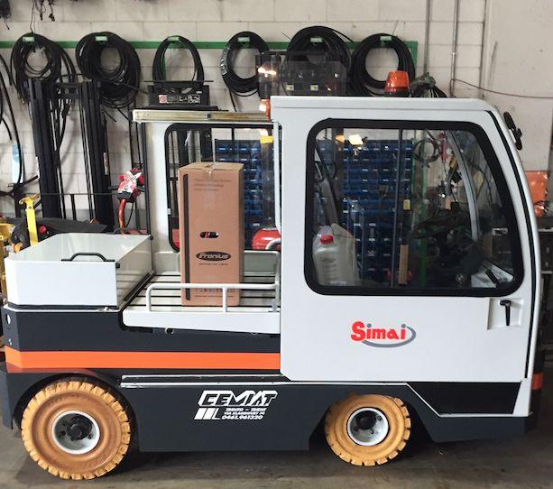 Simai TE 151 Trainatore www.cemiat.com