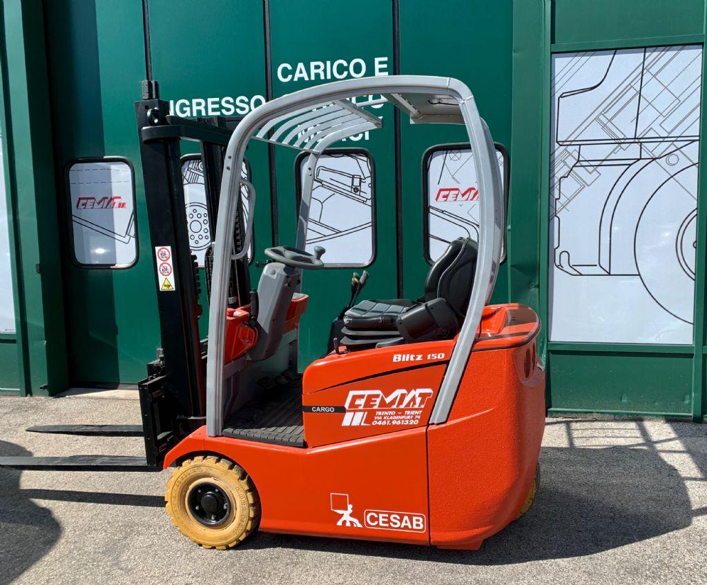 BT C3E150R Elettrico 3 ruote www.cemiat.com