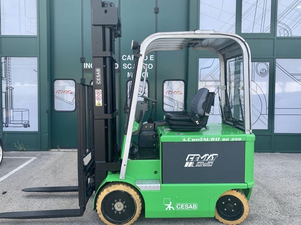 Cesab Centauro 250 Elettrico 4 ruote www.cemiat.com
