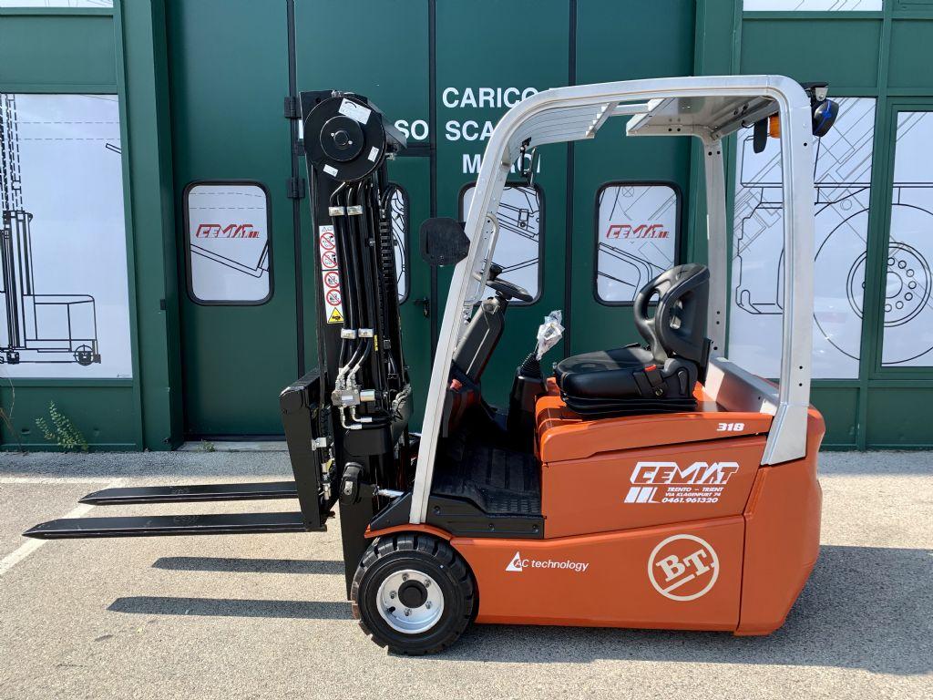 BT C3E-180 Elektro 3 Rad-Stapler www.cemiat.com