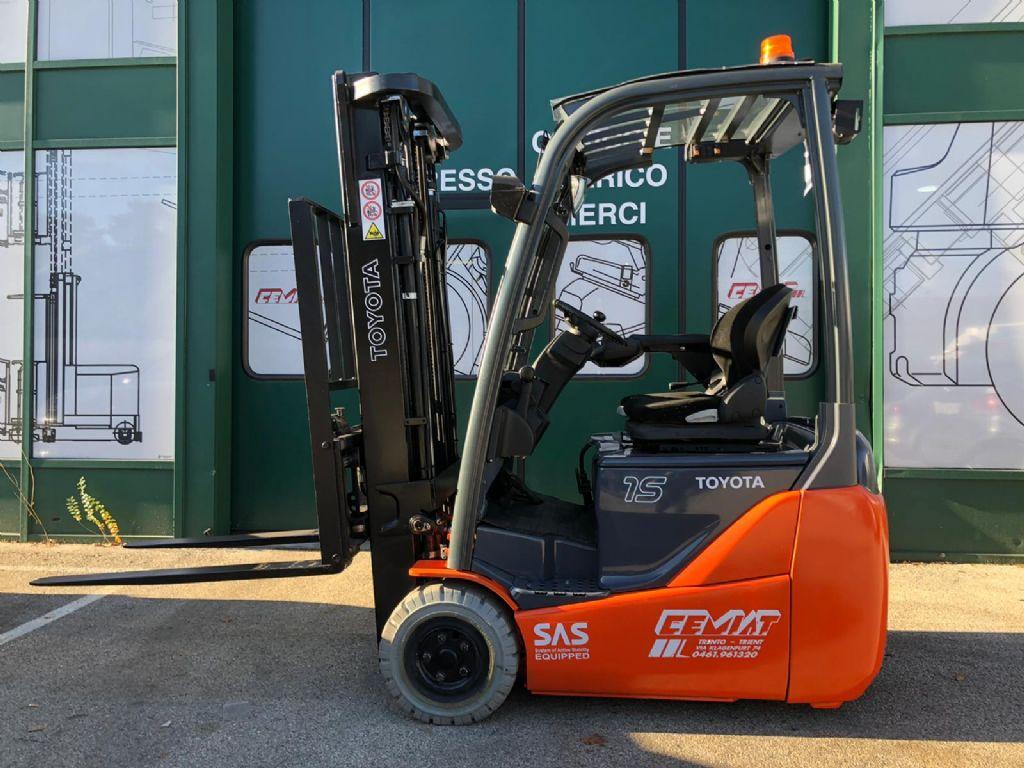 Toyota-IT 8FBET15 Elettrico 3 ruote www.cemiat.com