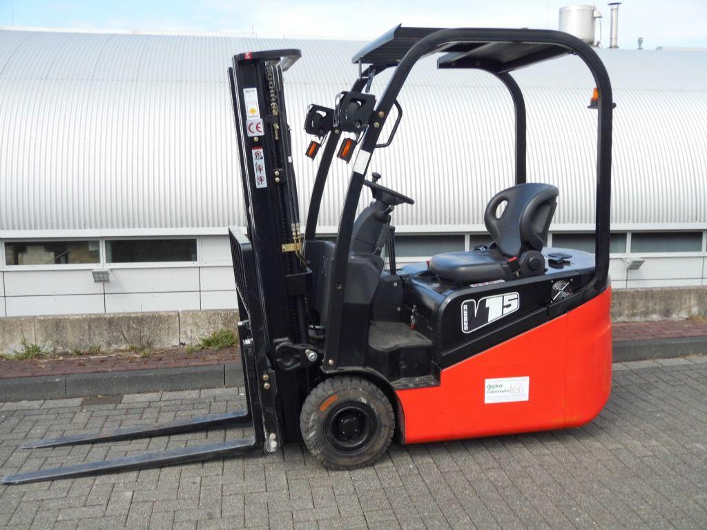 EP-CPD15/3F430-Elektro 3 Rad-Stapler-http://www.decker-gabelstapler.de