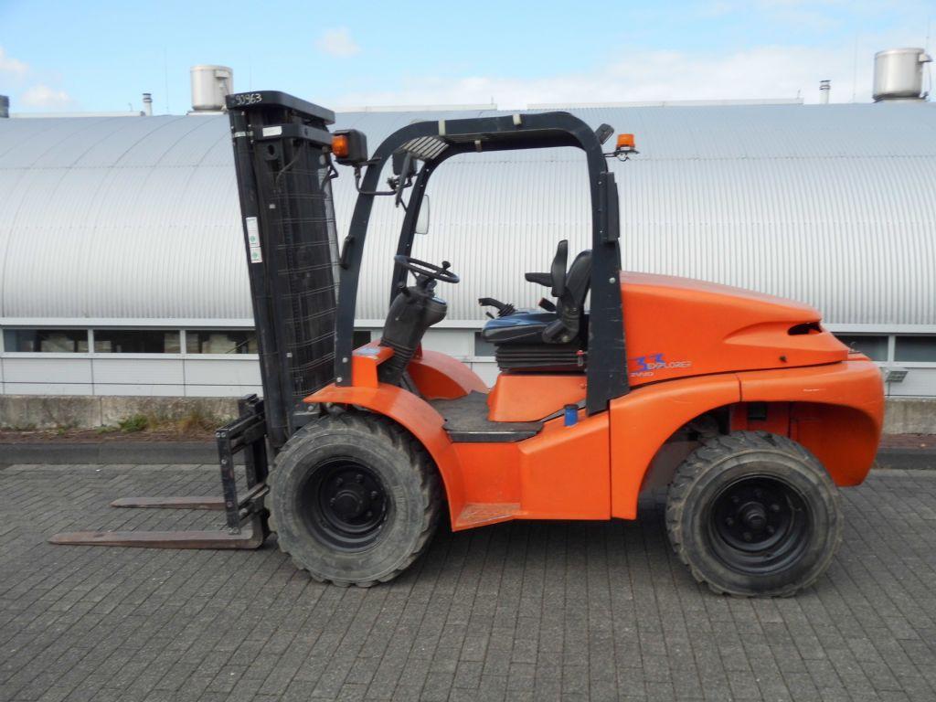 Mast-H33DA 2WD/3F470-Geländestapler-http://www.decker-gabelstapler.de