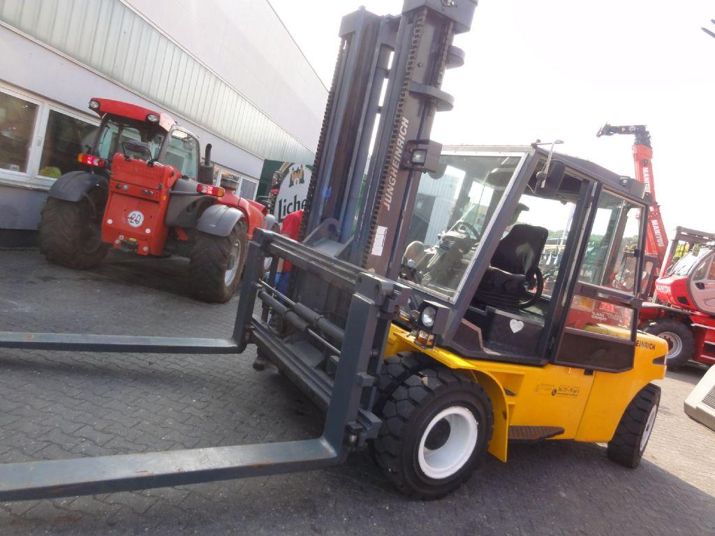 Jungheinrich-DFG S 80 (Räder neu)-Dieselstapler domnick-mueller.de