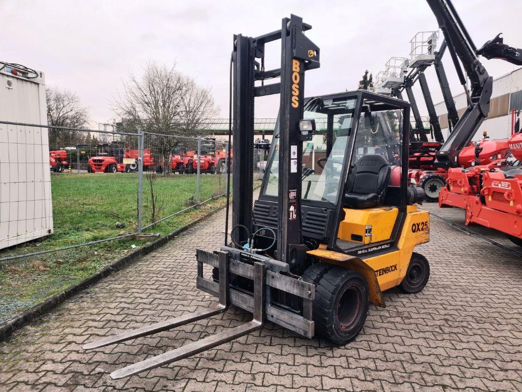 Steinbock Boss-QX 25 L-Treibgasstapler domnick-mueller.de