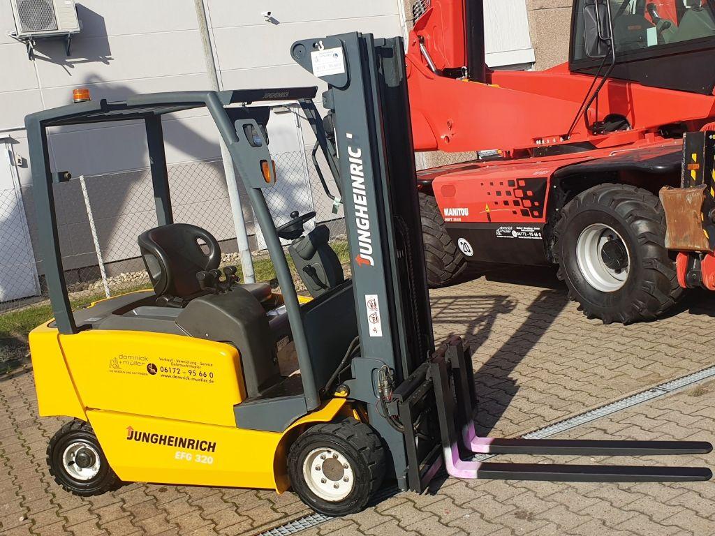 Jungheinrich-EFG 320-Elektro 4 Rad-Stapler domnick-mueller.de
