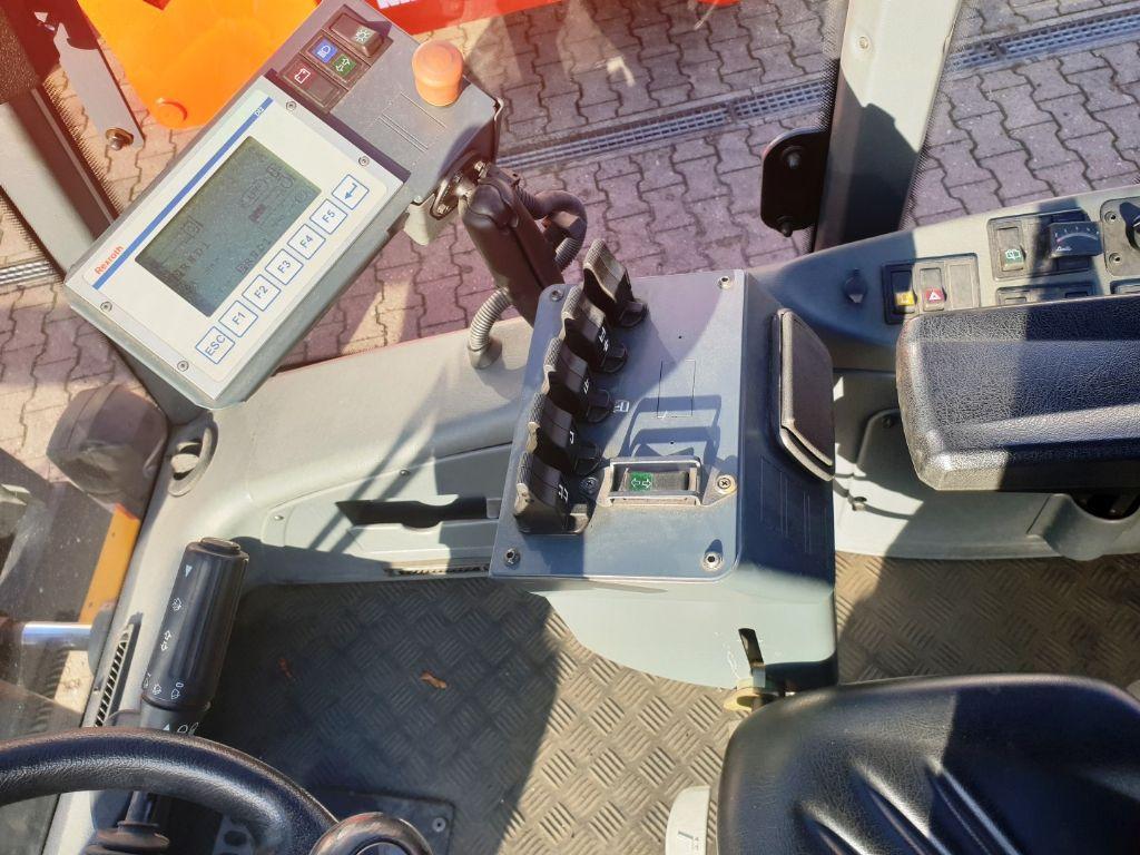 Jungheinrich TFG 680 Zinkenversteller Treibgasstapler