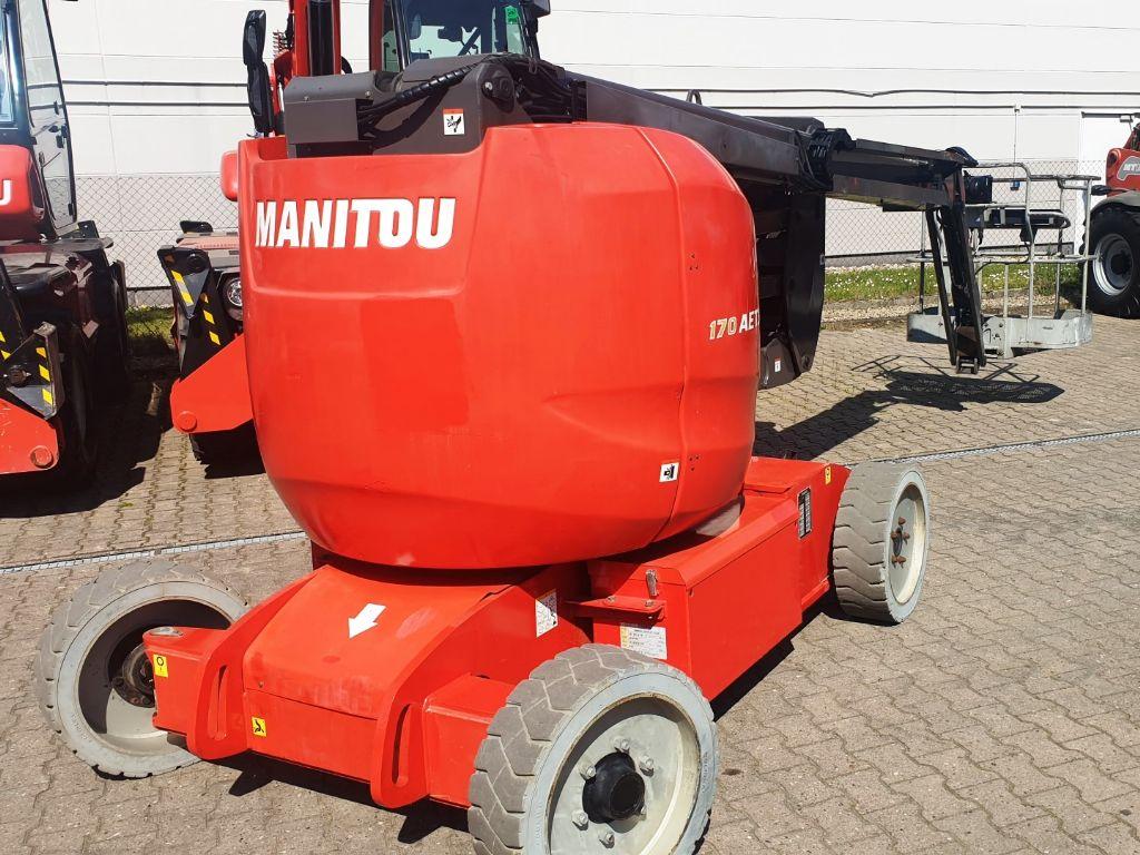 Manitou-170 AETJ-L -Gelenkteleskopbühne domnick-mueller.de