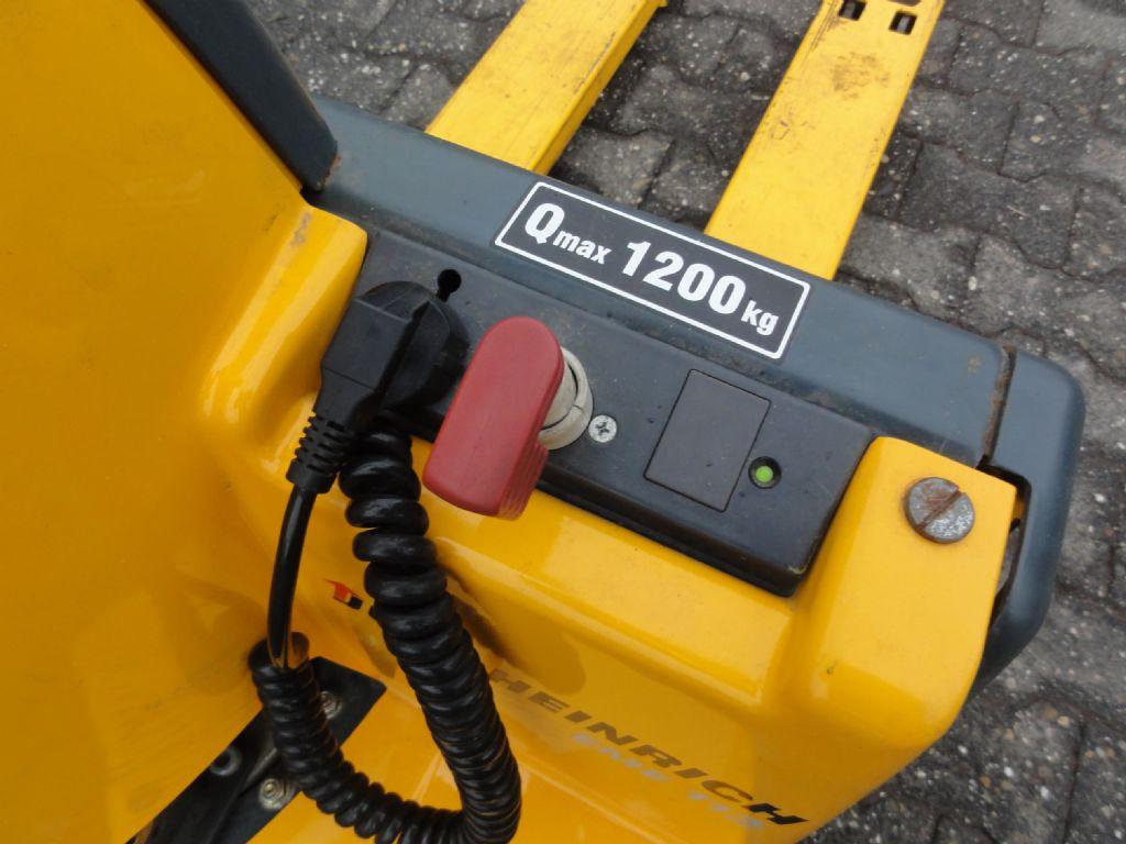 Jungheinrich-EME 12 ***Batterie neu***-Deichselstapler domnick-mueller.de