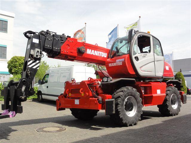 Manitou-MRT 2150 Privilege EU40kmh-Teleskopstapler drehbar domnick-mueller.de