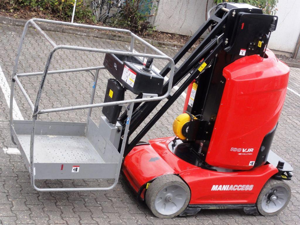 Manitou-100 VJR  10mtr-Senkrecht Hebebühne domnick-mueller.de