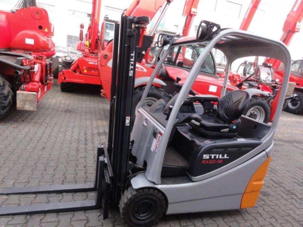 Still-RX 20-16 3F440-Elektro 3 Rad-Stapler domnick-mueller.de