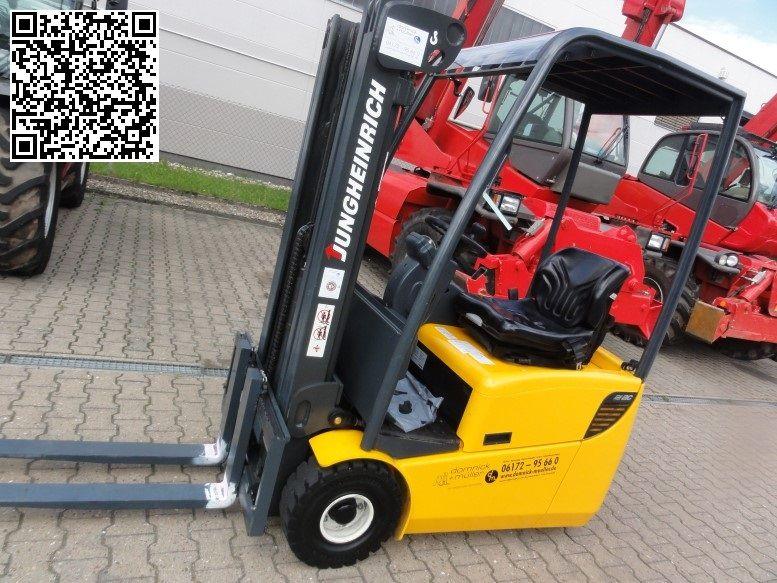 Jungheinrich-EFG 113-Elektro 3 Rad-Stapler domnick-mueller.de
