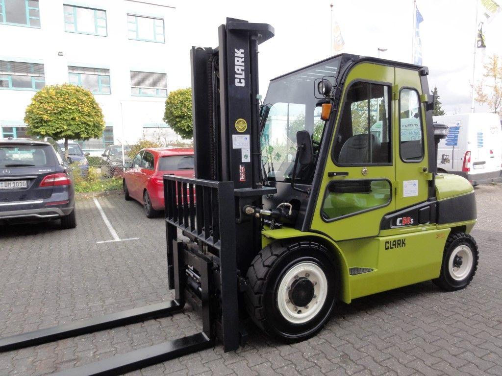Clark-C 50 D - Demo-2013-Dieselstapler domnick-mueller.de
