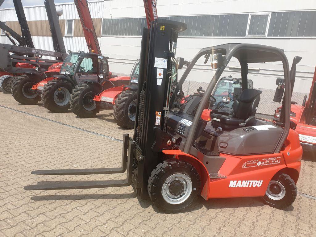 Manitou-MI 25 D-Dieselstapler domnick-mueller.de
