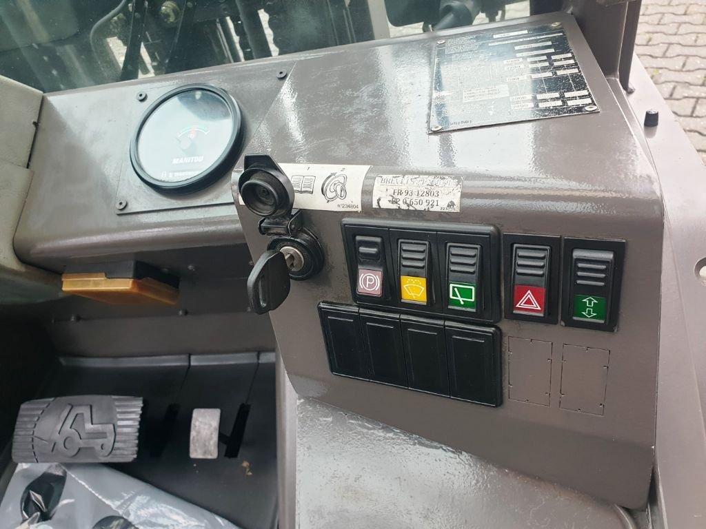 Manitou MSI 30 Turbo 3F430 Geländestapler