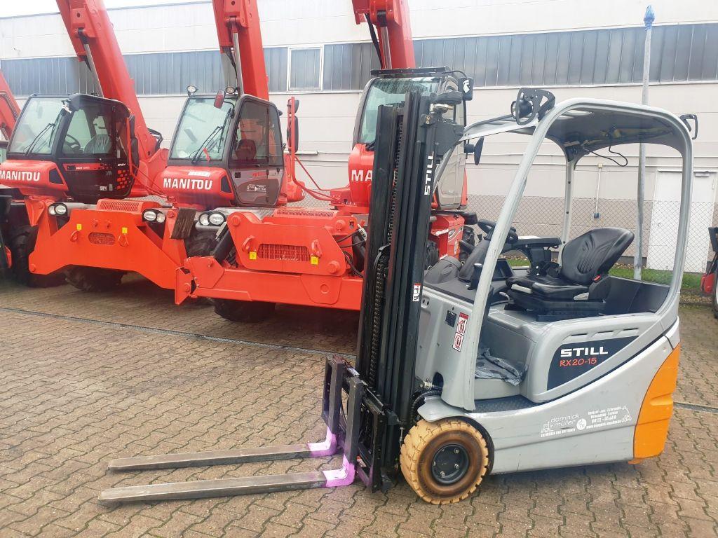 Still-RX 20-15-Elektro 3 Rad-Stapler domnick-mueller.de