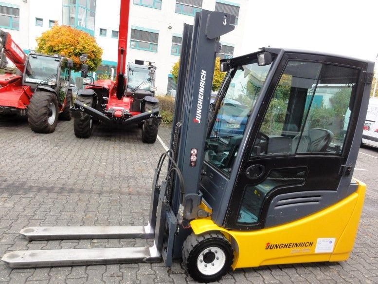 Jungheinrich-EFG 220  **new Batterie**-Elektro 3 Rad-Stapler domnick-mueller.de