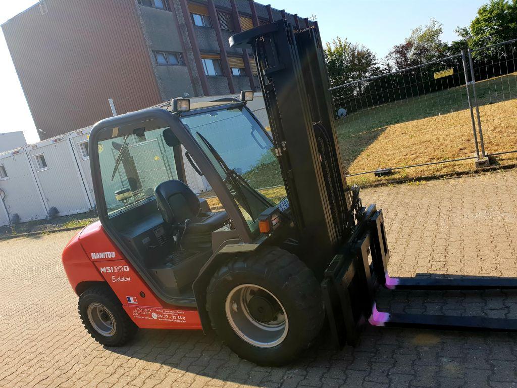 Manitou-MSI 30 Triplex 4700-Geländestapler domnick-mueller.de
