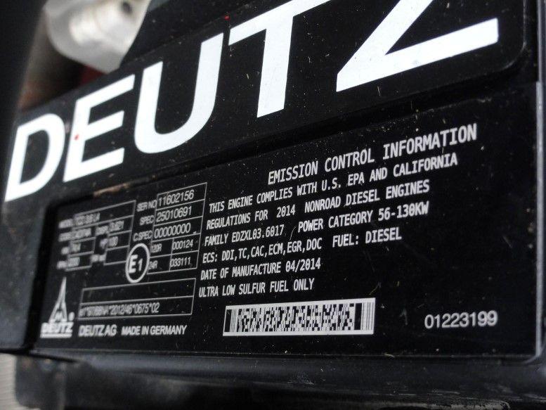 Manitou MT 932 4x4 Turbo Deutz Teleskopstapler starr
