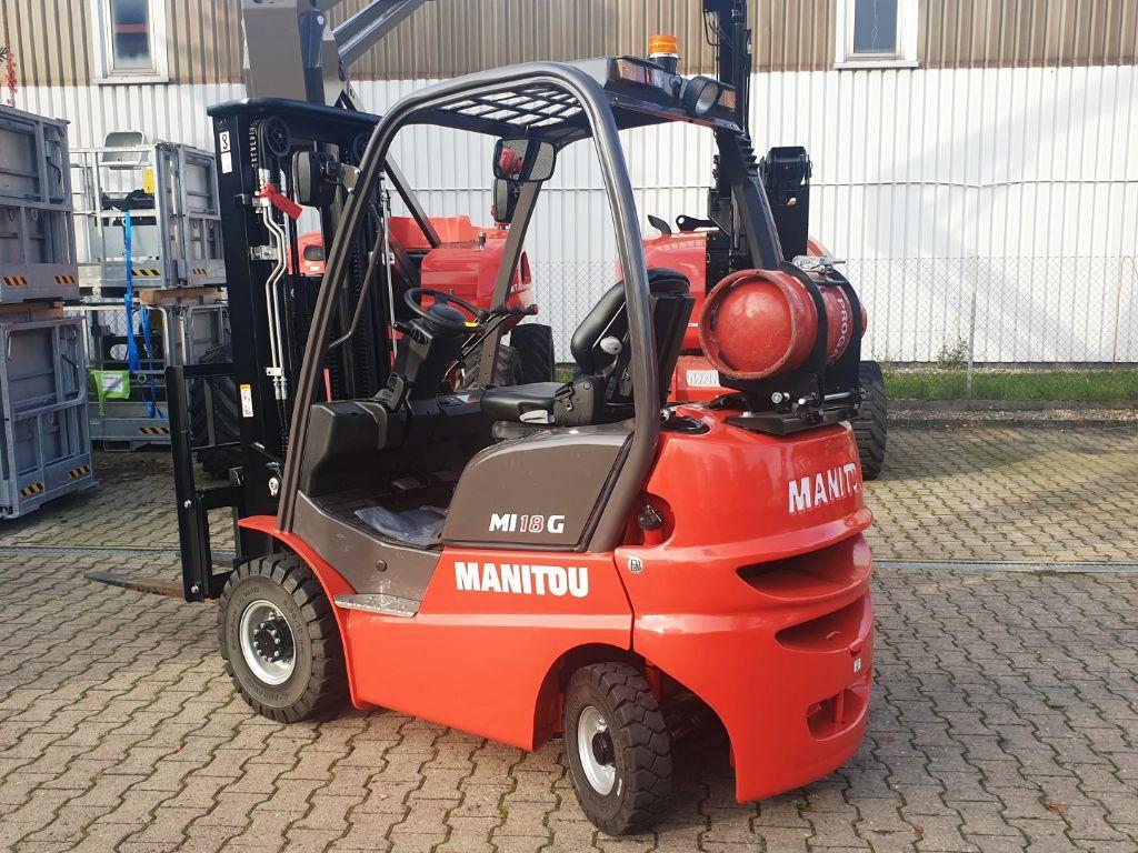 Manitou MI 18 G  Treibgasstapler www.roos-gabelstapler.de