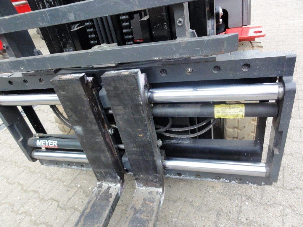 Manitou ME 450 Elektro-non marking Elektro 4 Rad-Stapler