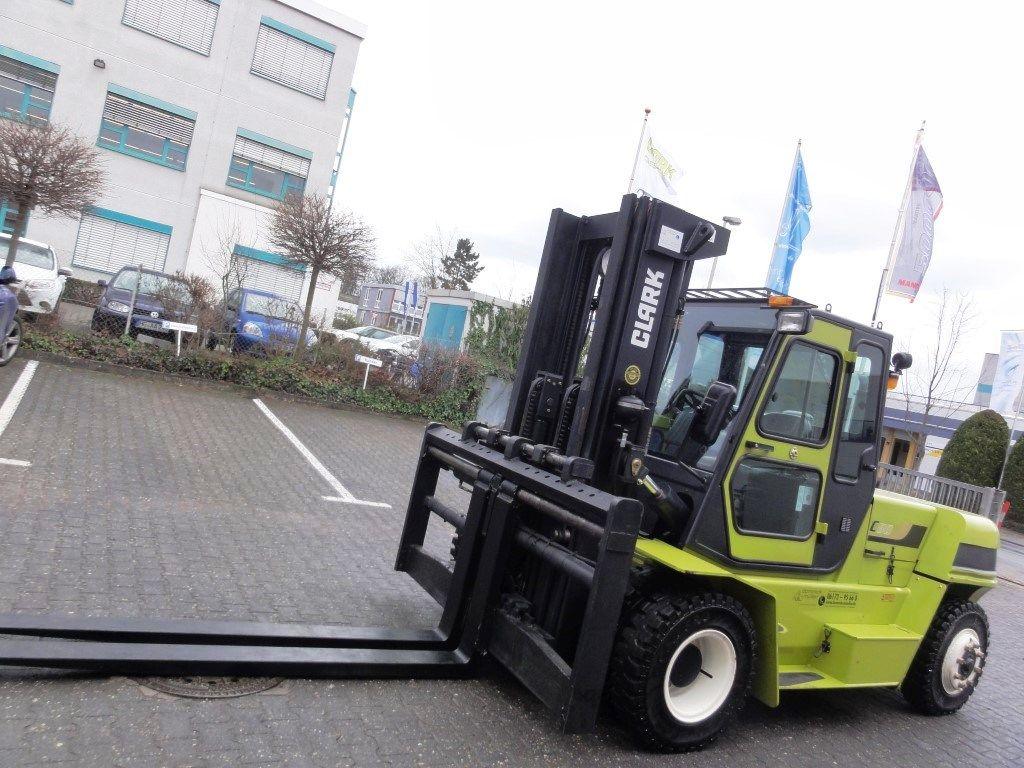 Clark-C 80-600 3F470 Demo2014-Dieselstapler domnick-mueller.de
