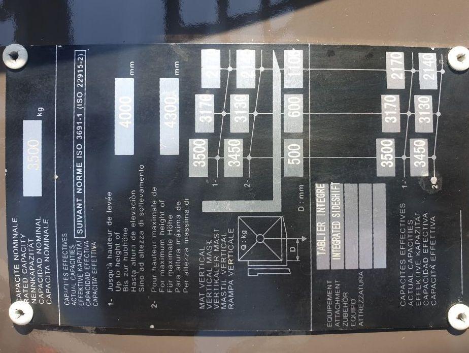 Manitou MI 35 Gas Triplex Neu 2018 Treibgasstapler