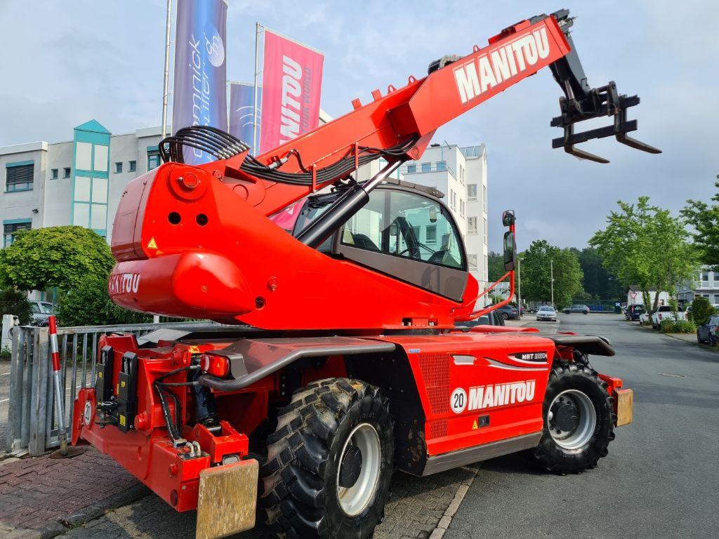 Manitou MRT 2150 Privilege Tüv S2 Teleskopstapler drehbar www.roos-gabelstapler.de