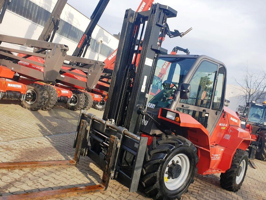Manitou M 30.4 3F550 Euro3B Geländestapler www.roos-gabelstapler.de