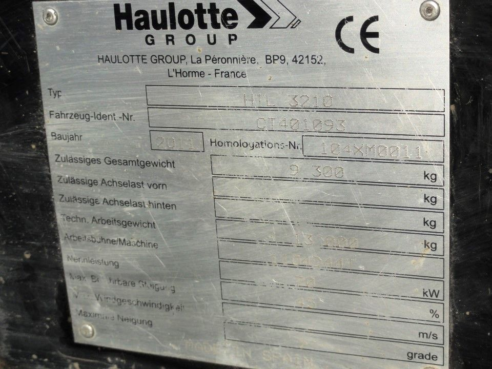 Haulotte-HTL 3210 (ähnlich Manitou MT 1030)-Teleskopstapler starr domnick-mueller.de