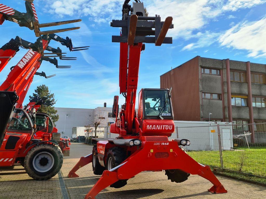 Manitou MRT 1840 easy T4 S1 400 Teleskopstapler drehbar www.roos-gabelstapler.de