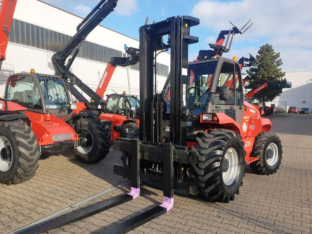 Manitou M50.4 -EuroIII3- 3F550 4x4 Geländestapler www.roos-gabelstapler.de