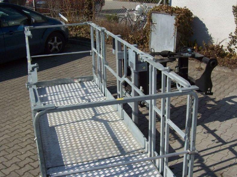 Manitou Mega Personen Arbeitskorb  Personenkorb www.roos-gabelstapler.de