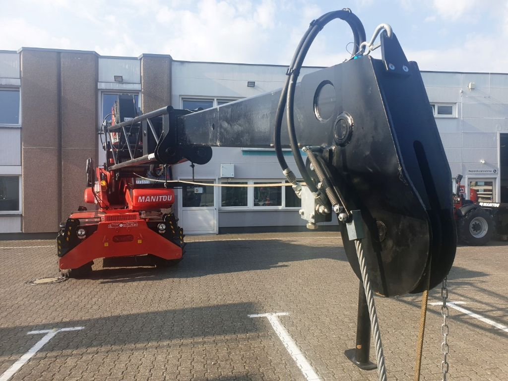 Manitou-PT 800 Teleskop Verlängerung Kran Arm Winde-Kranarm domnick-mueller.de