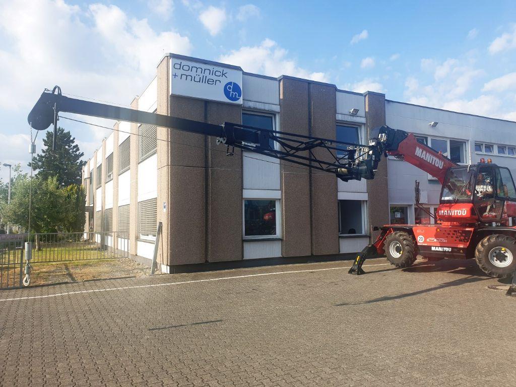Manitou PT 800 Teleskop Jib Kran Arm Winde Kranarm www.roos-gabelstapler.de