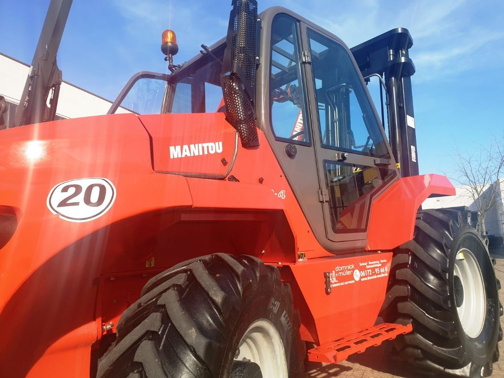 Manitou-M50.4 -EuroIII3- 3F550 4x4-Geländestapler domnick-mueller.de