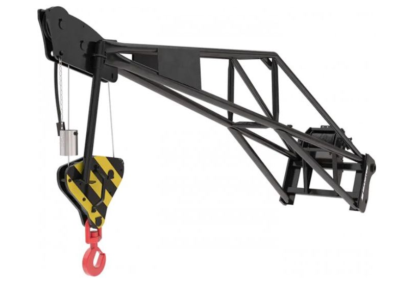 Manitou EXTENSION JIB WITH WINCH Kranarm www.roos-gabelstapler.de