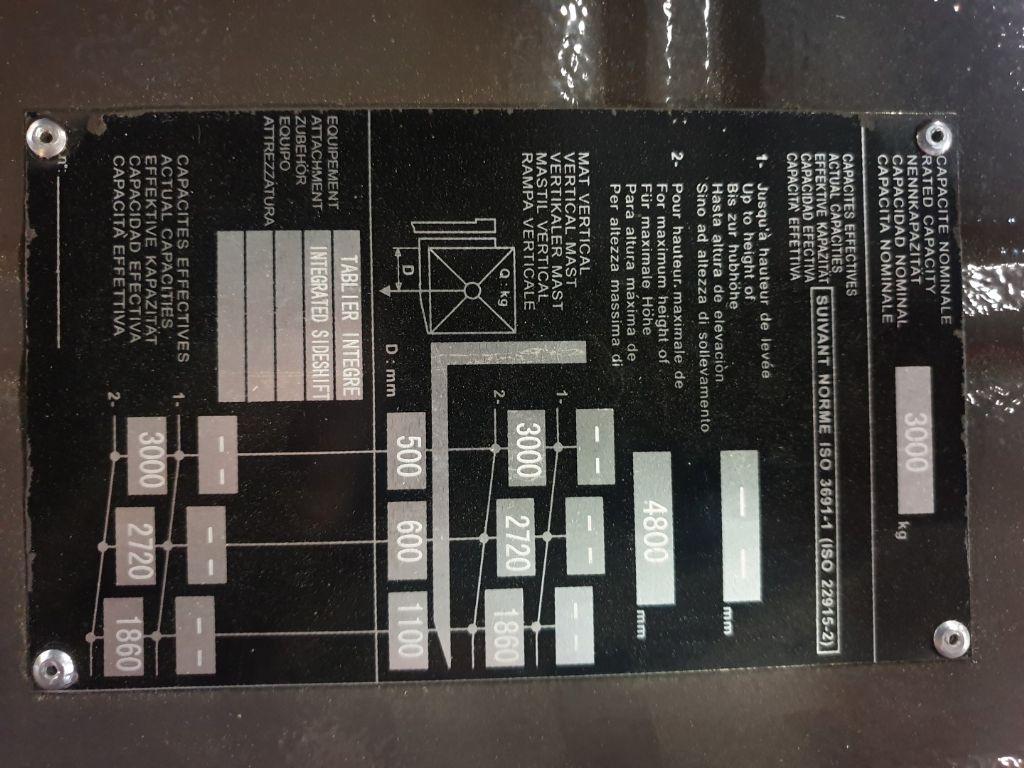 Manitou ME 430 E Triplex Elektro 4 Rad-Stapler