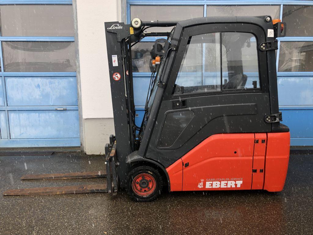 Linde-E 16 L-01-Elektro 3 Rad-Stapler-www.staplerservice-ebert.de