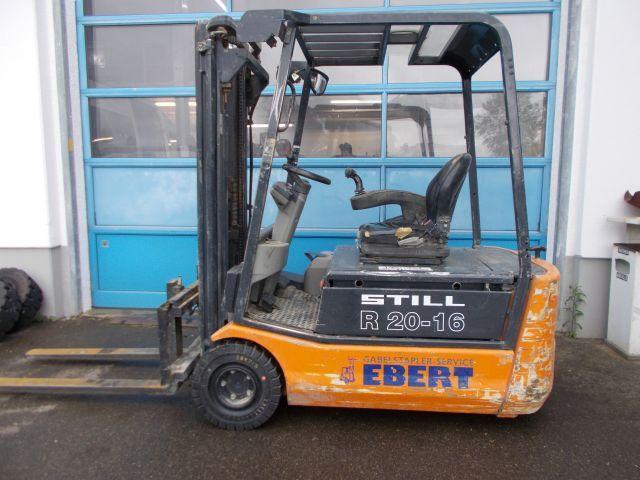 Still-R20-16-Elektro 3 Rad-Stapler-www.staplerservice-ebert.de