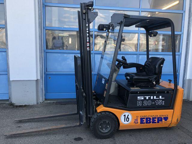 Still-R20-15i-Elektro 3 Rad-Stapler-www.staplerservice-ebert.de