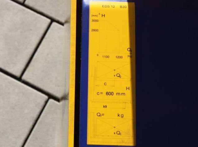 Stöcklin-EDS 12 B30-Deichselstapler-www.eckl-stapler.de