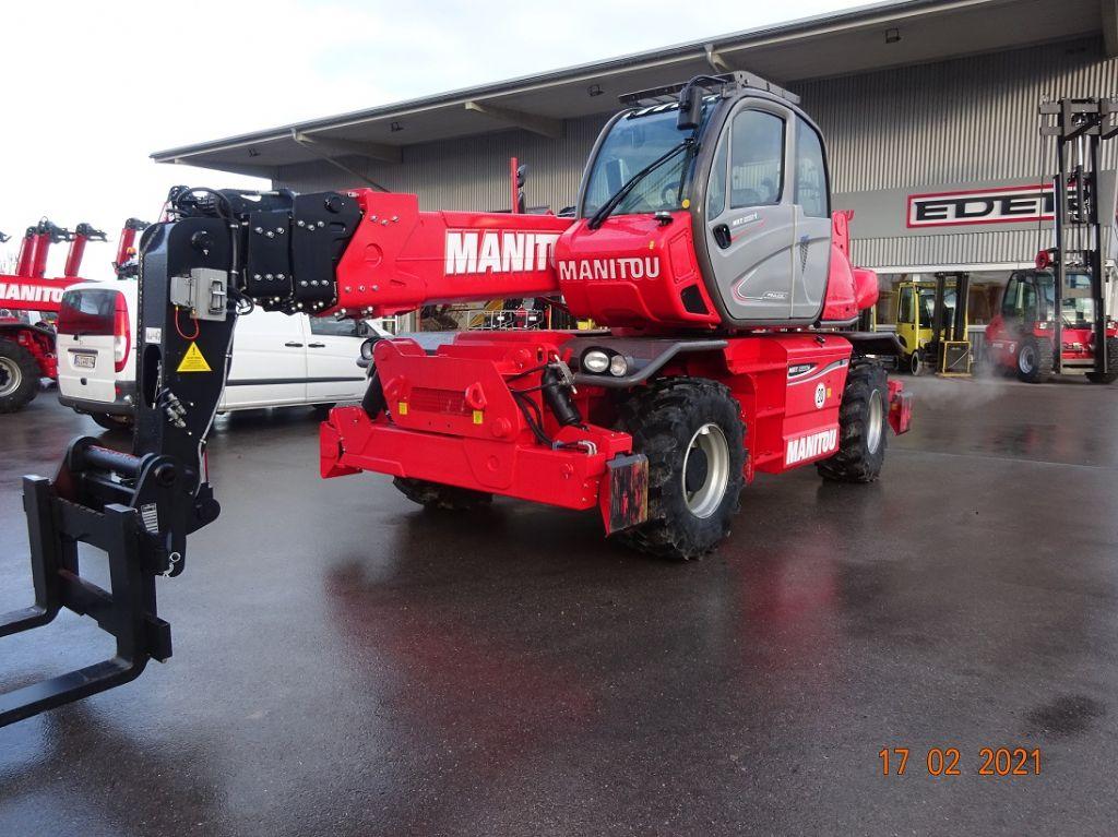 Manitou MRT 2550 Privilege + Teleskopstapler drehbar www.eder-stapler.de