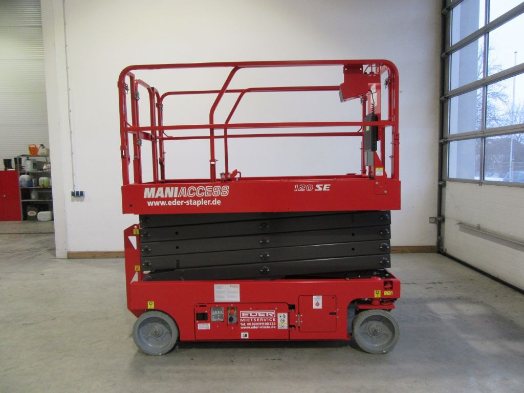 Manitou 120 SE Scherenarbeitsbühne www.eder-stapler.de